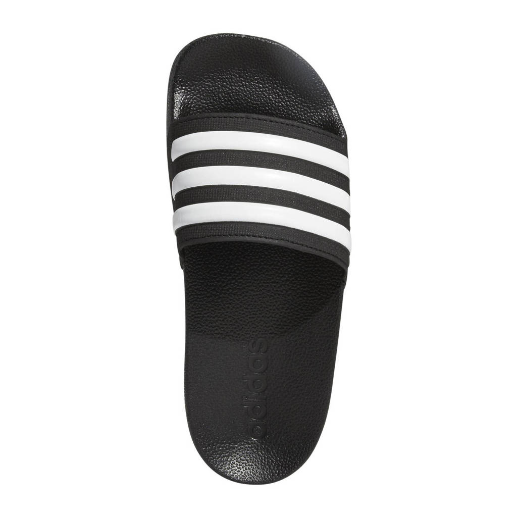 adidas Performance Adilette Shower slippers zwart/wit, Zwart/wit