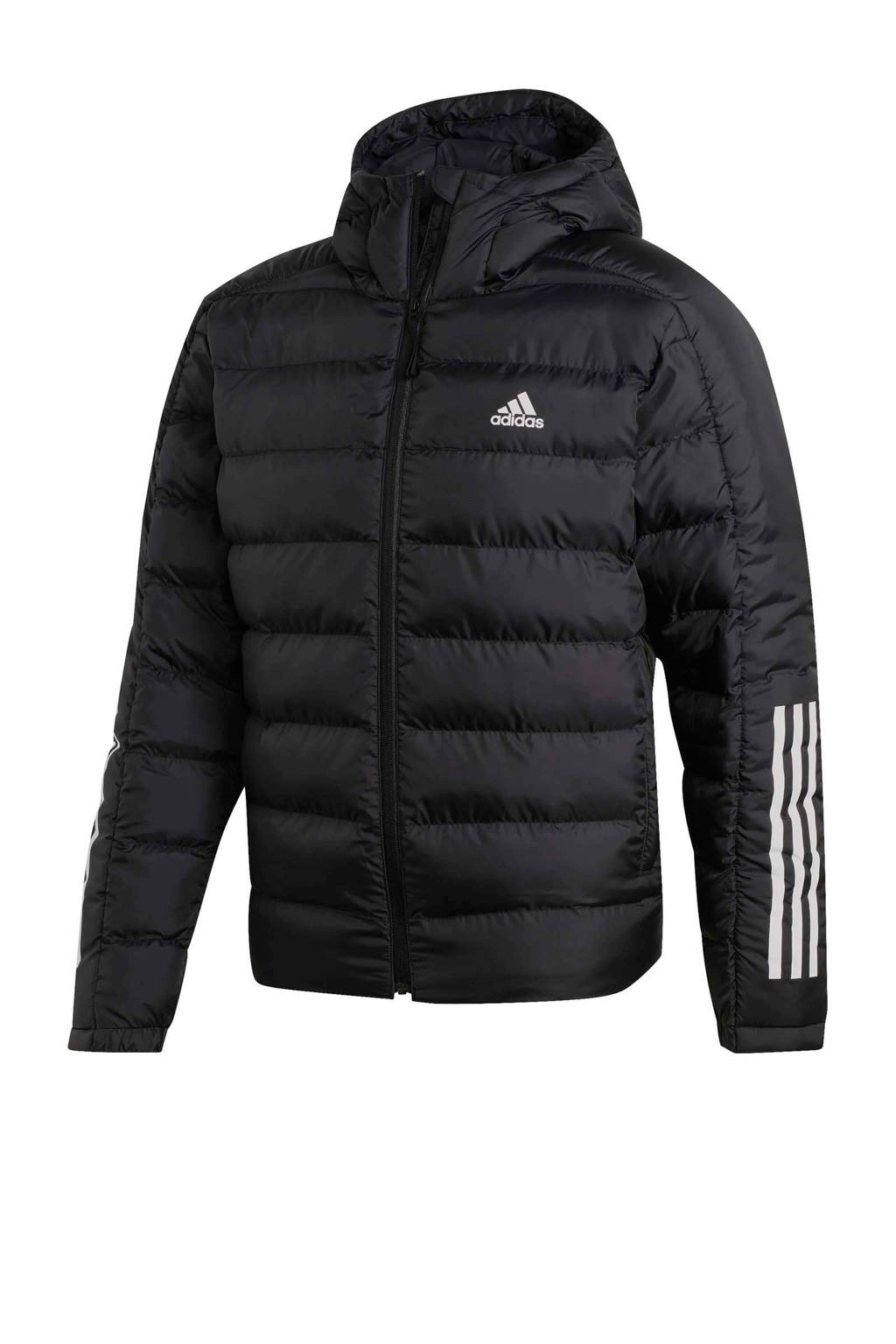 adidas Performance jack zwart, Zwart/wit