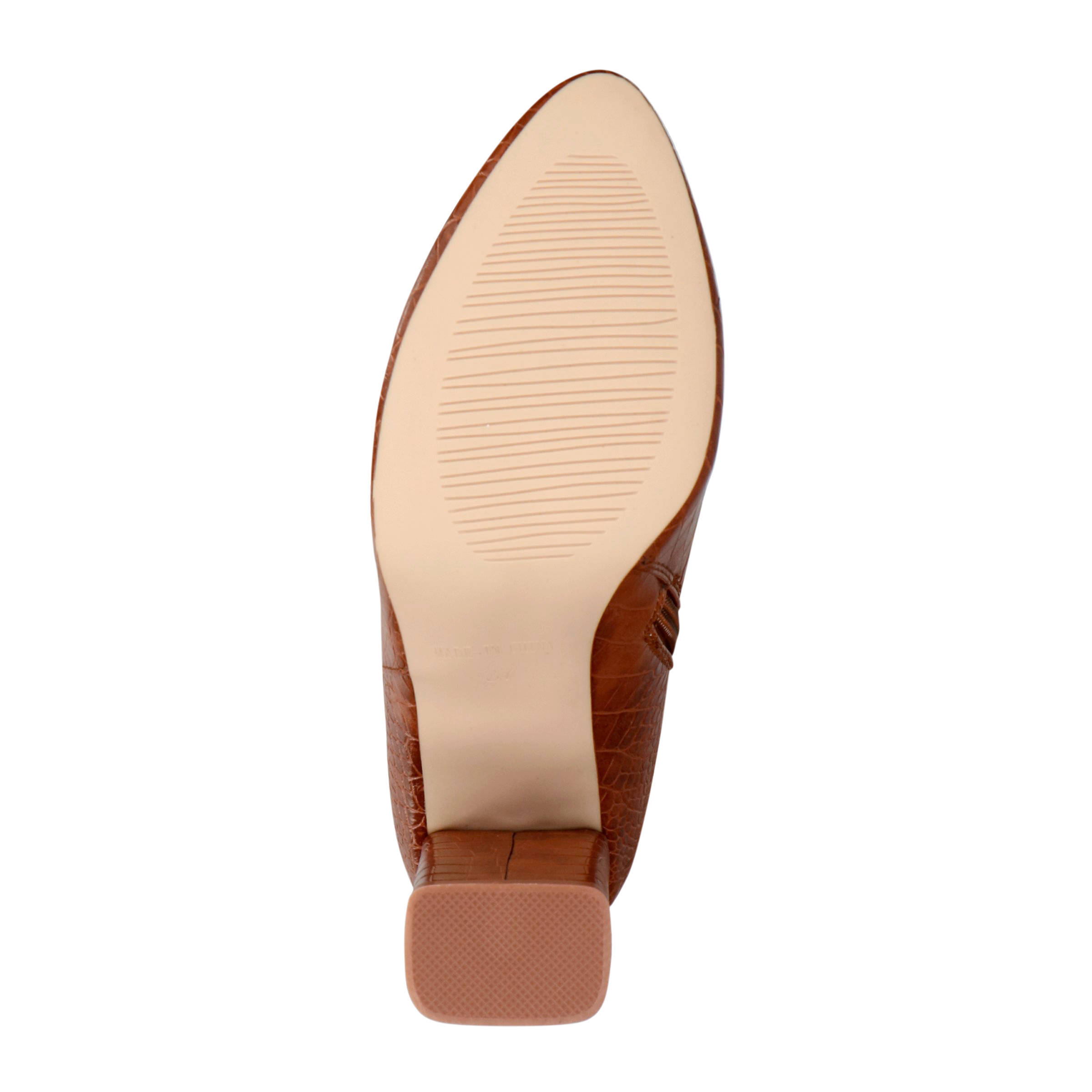 Raid Marion 1 laarzen crocoprint bruin | wehkamp