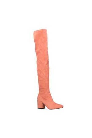 overknee laarzen roze