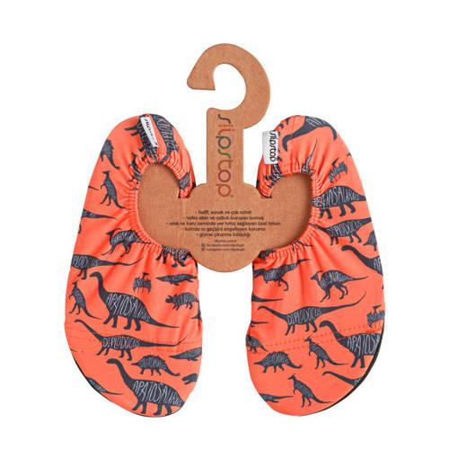 Slipstop Diplodocus zwemschoenen oranje