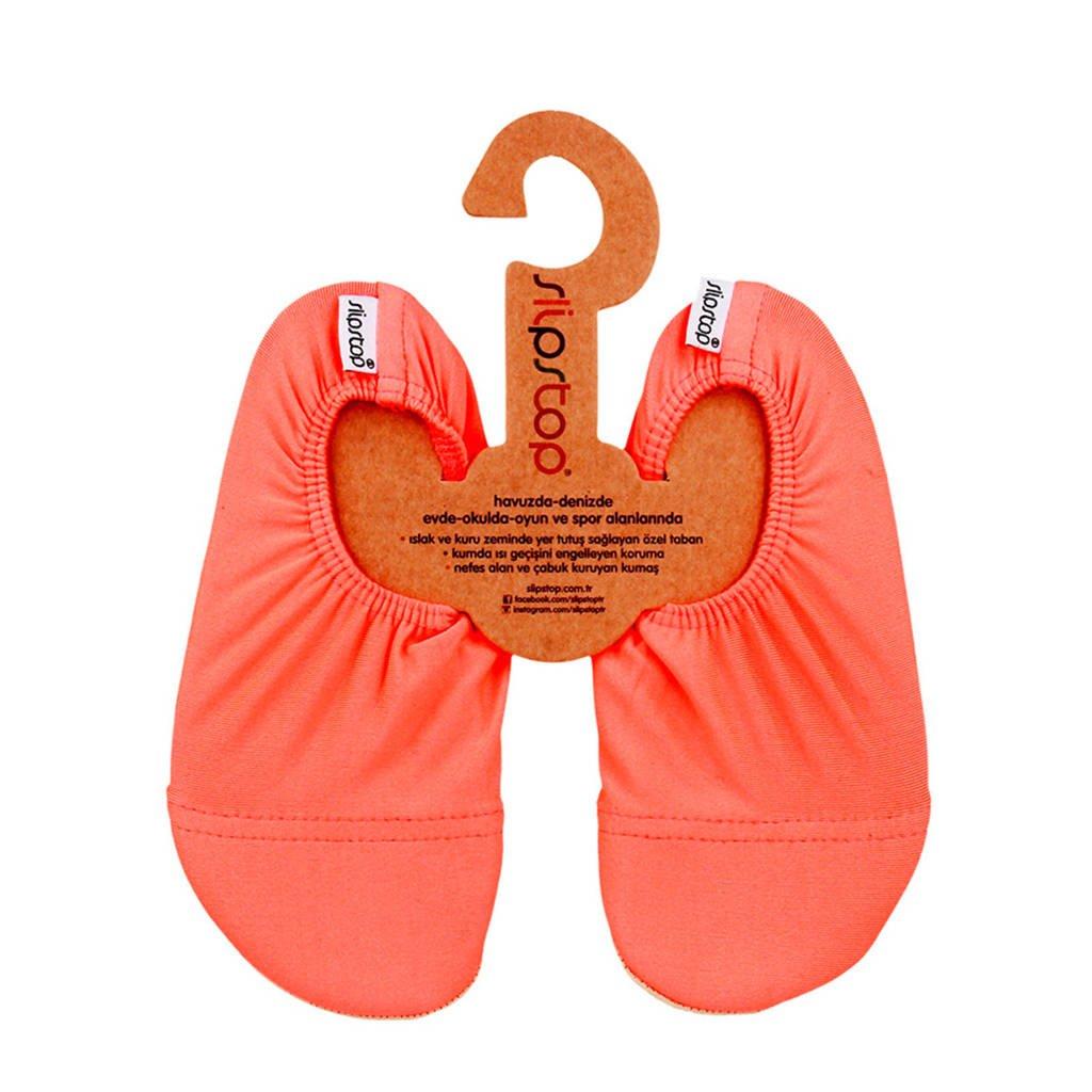 Slipstop Neon Orange zwemschoenen oranje kids, Oranje