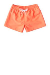 Slipstop zwemshort uni oranje, Oranje