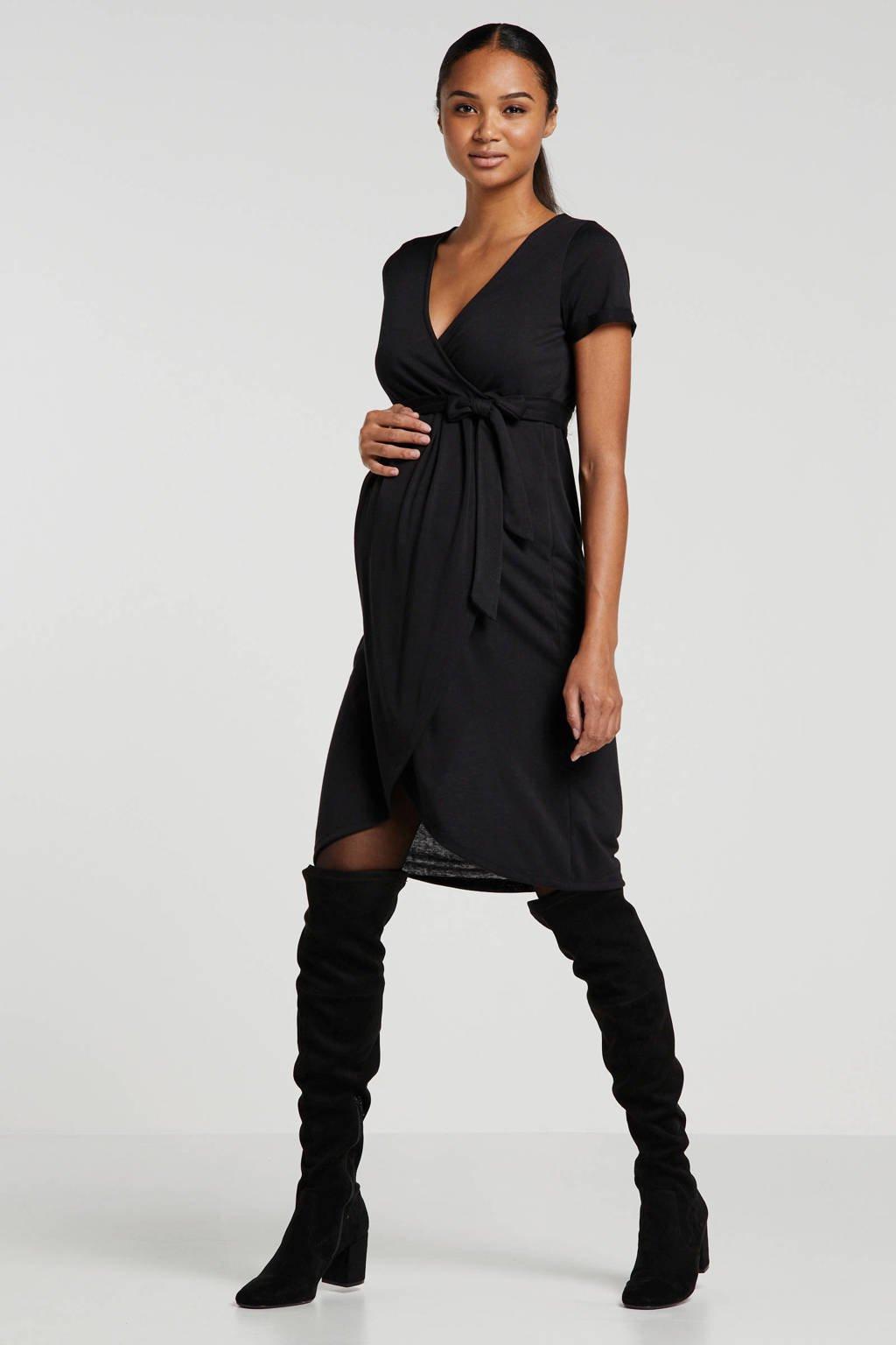 MAMALICIOUS zwangerschapsjurk zwart, Zwart