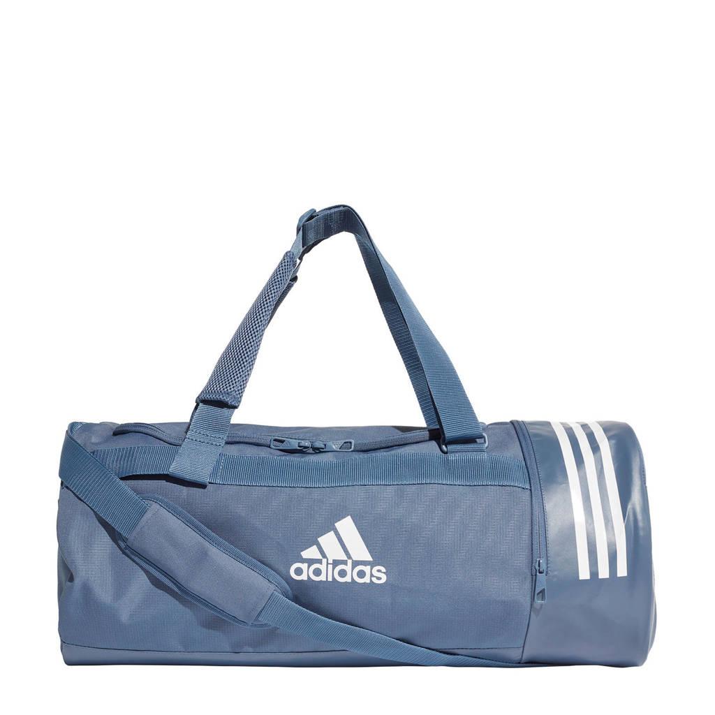 adidas performance   sporttas CVRT 3S DUF M lichtblauw, Lichtblauw