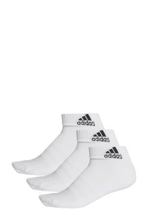 sportsokken (set van 3 paar) wit