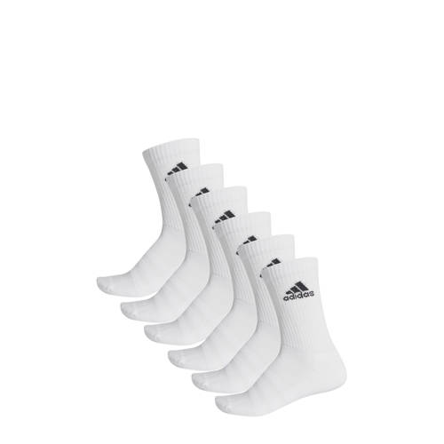 adidas Performance sportsokken (set van 6) wit