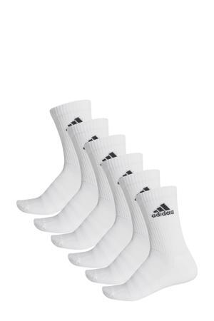 sportsokken - set van 6 wit
