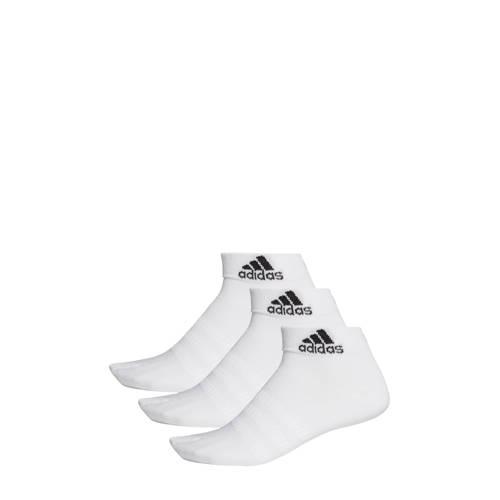 adidas Performance sportsokken (set van 3) wit