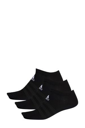 sportsokken - set van 3 zwart