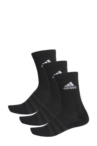 performance   sportsokken (set van 3) zwart