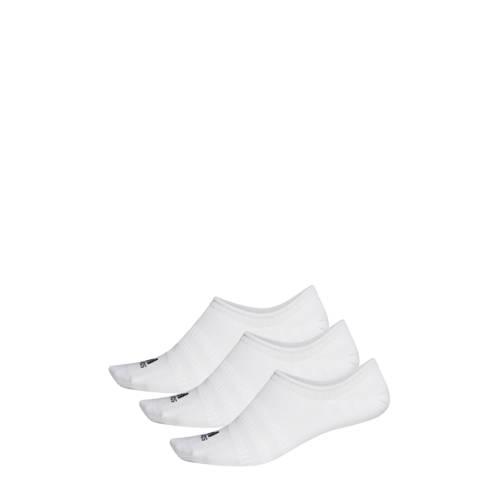 adidas Performance sneakersokken (set van 3) wit