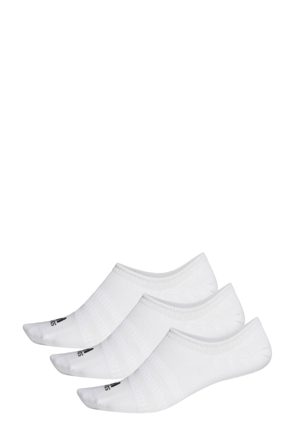 adidas Performance No Show sportsokken - set van 3 wit, Wit