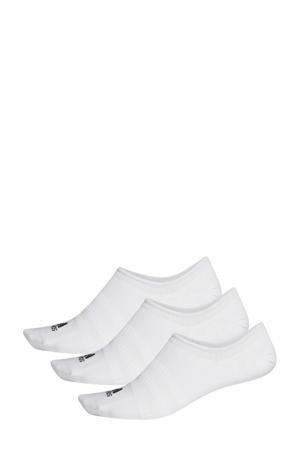 sneakersokken - set van 3 wit