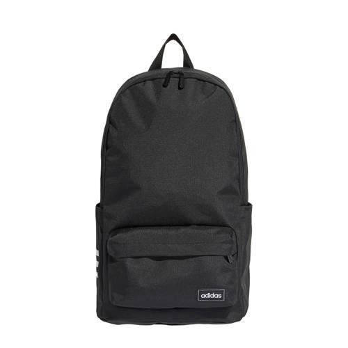 adidas Classic 3 Stripe Backpack Black