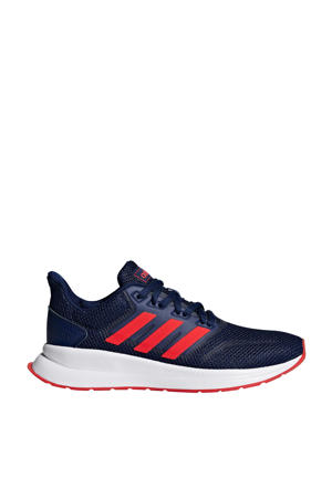 Runfalcon hardloopschoenen donkerblauw kids