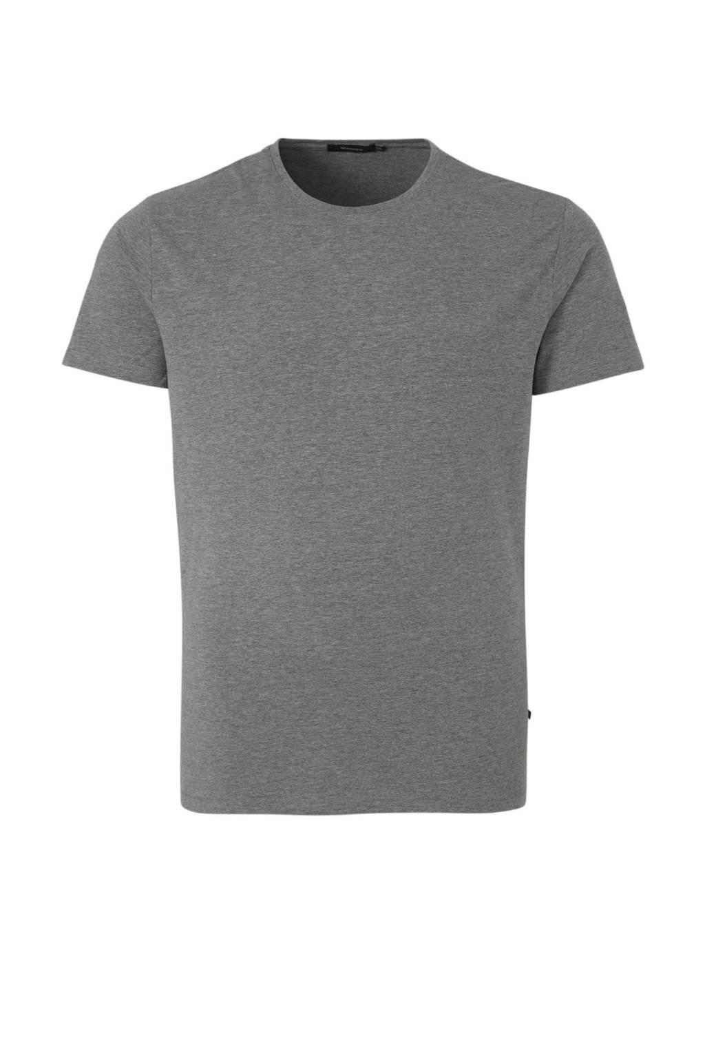 Matinique gemêleerd T-shirt grijs, Grijs