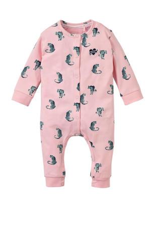 baby boxpak Xavie met all over print roze