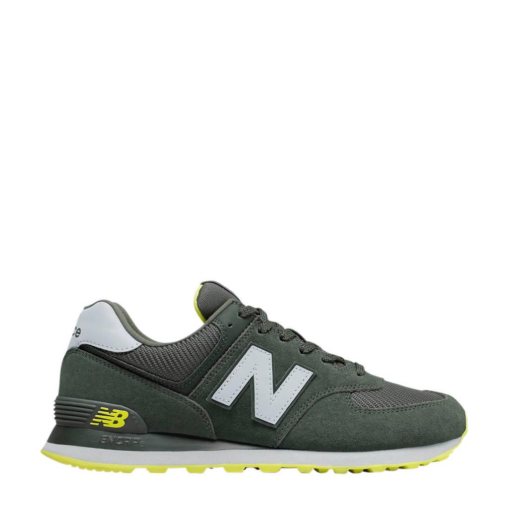 New Balance 574  sneakers groen/geel, Groen/geel