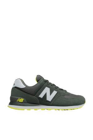 574  sneakers groen/geel