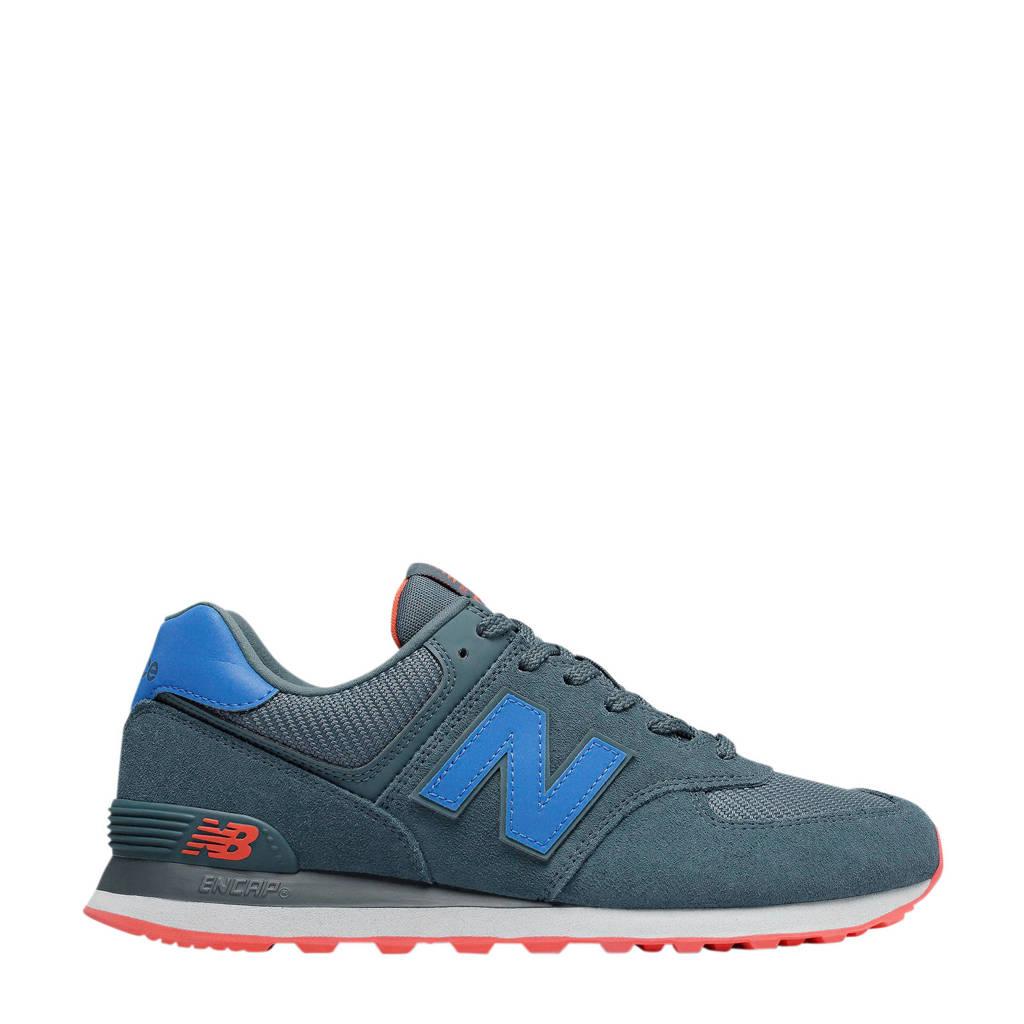 New Balance 574  sneakers petrol/blauw, Petrol/blauw