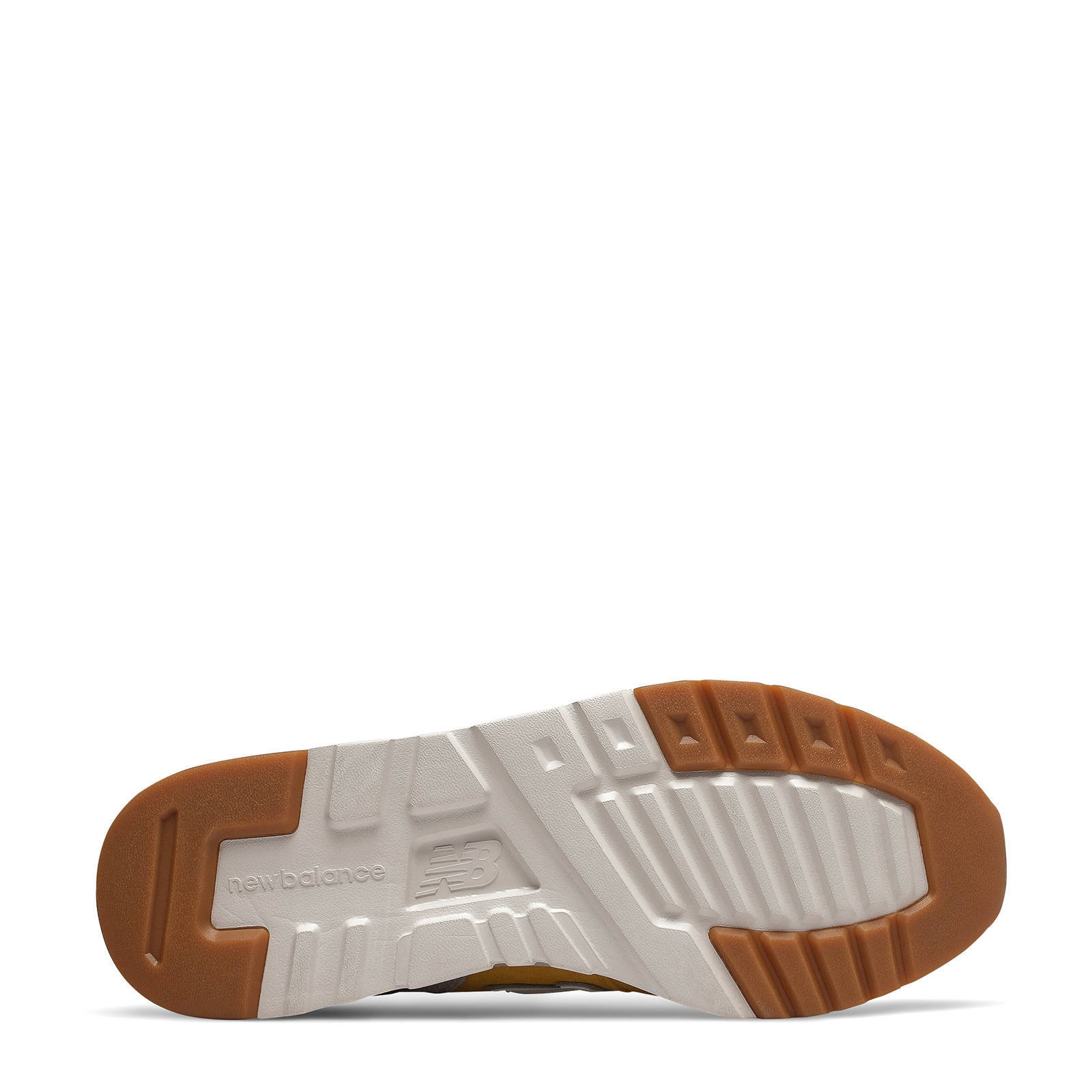 New Balance 997 sneakers geel/bruin | wehkamp