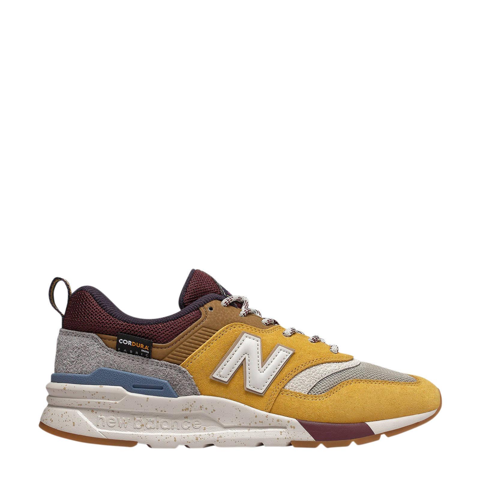 997 sneakers geel/bruin