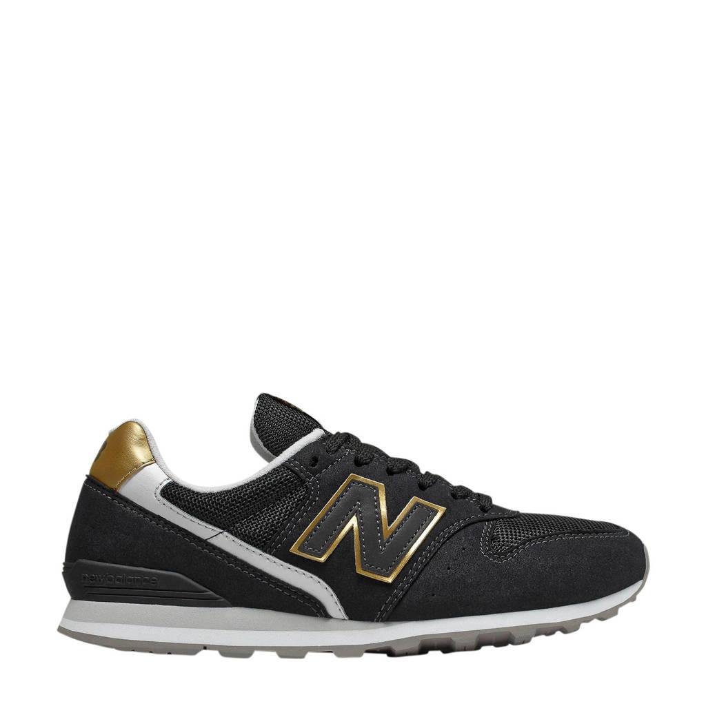 New Balance 996  sneakers zwart, Zwart/goud