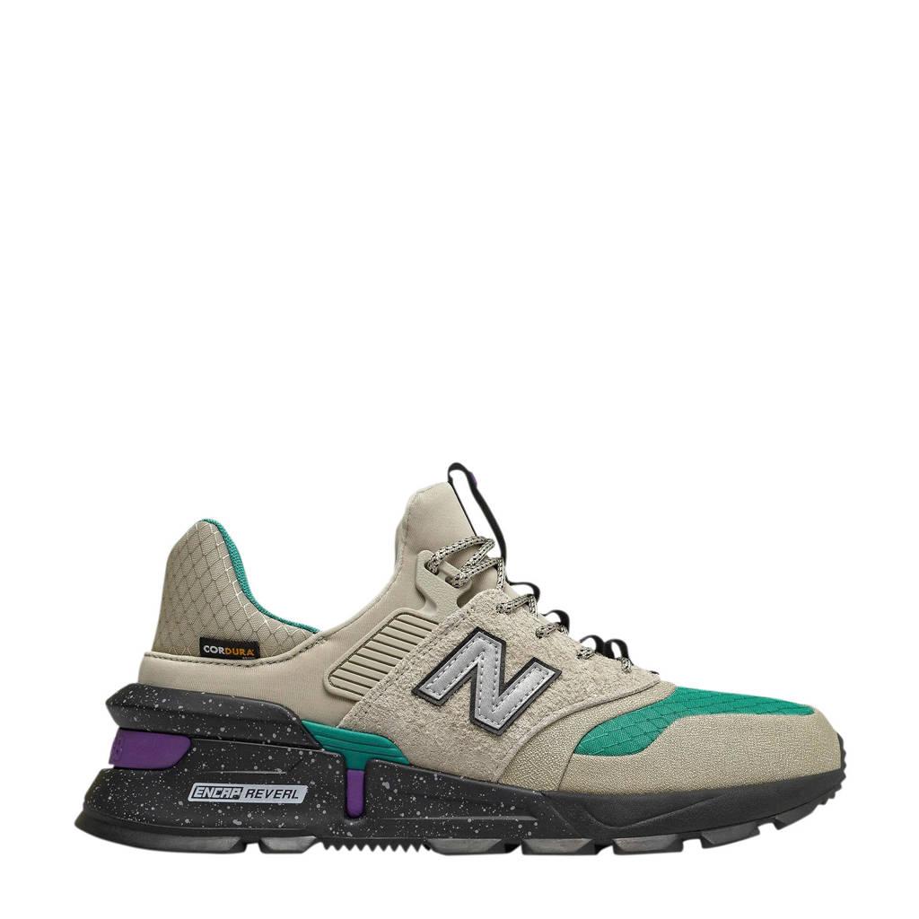 New Balance  MS997 sneakers grijs/groen/zwart, Grijs/groen/zwart