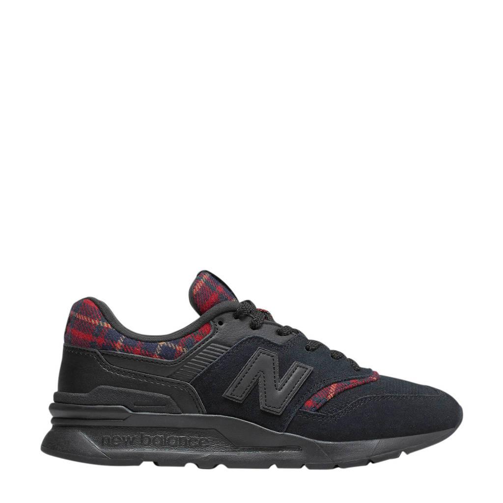 New Balance  997 sneakers zwart/rood, Zwart/rood