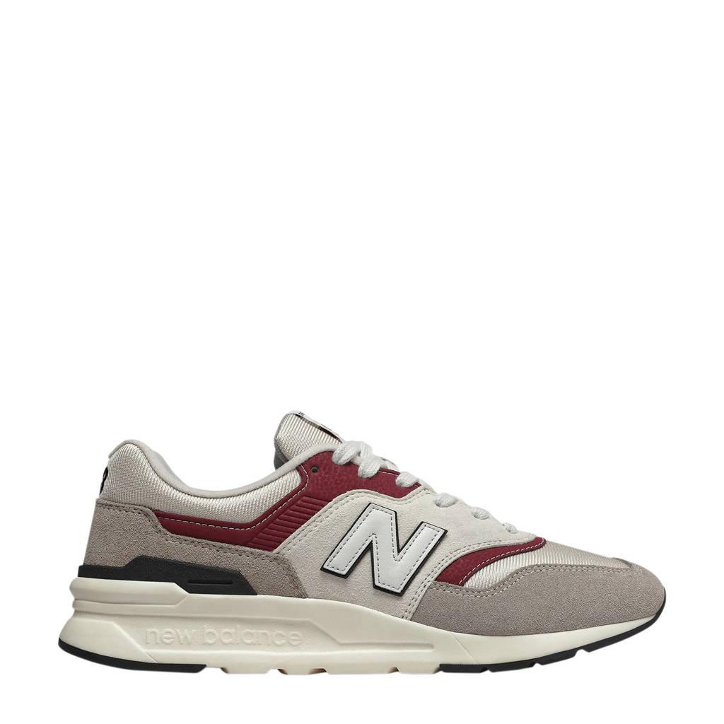 New Balance 997  997H sneakers gebroken wit/donkerrood, Gebroken wit/donkerrood