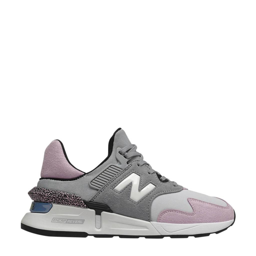 New Balance 997  sneakers grijs/roze, Grijs/roze
