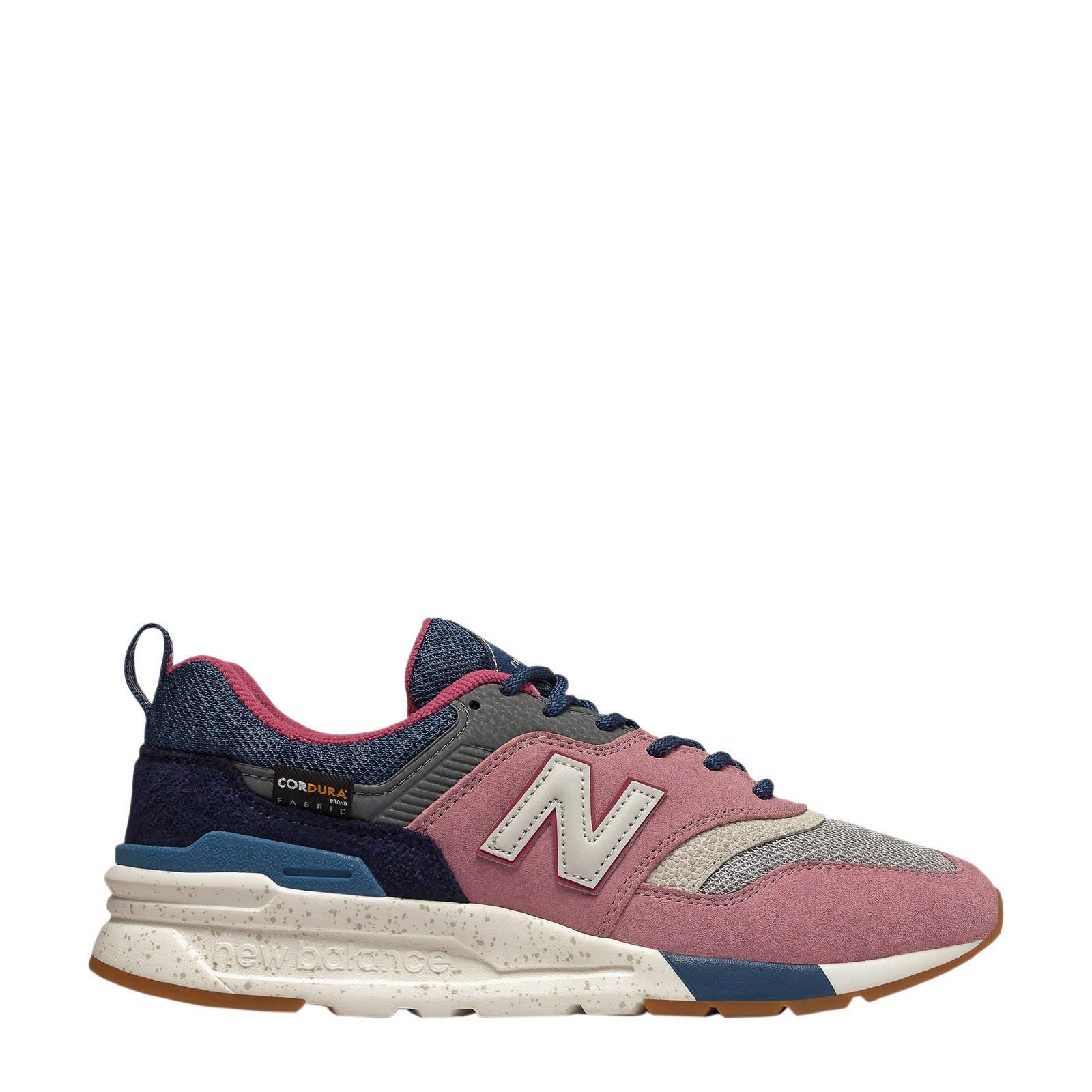 New Balance 997 sneakers roze/blauw | wehkamp