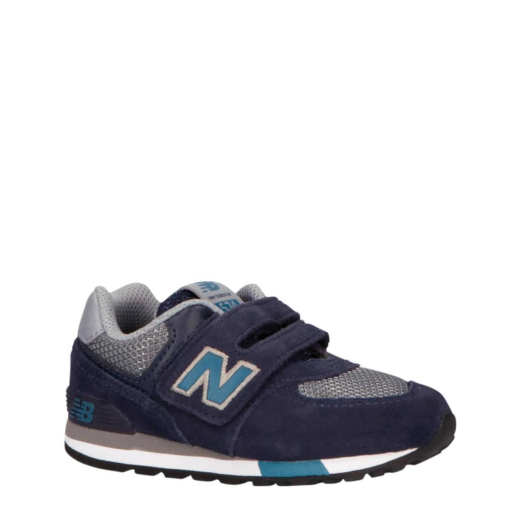 New Balance  574 sneakers donkerblauw/grijs, Donkerblauw/grijs