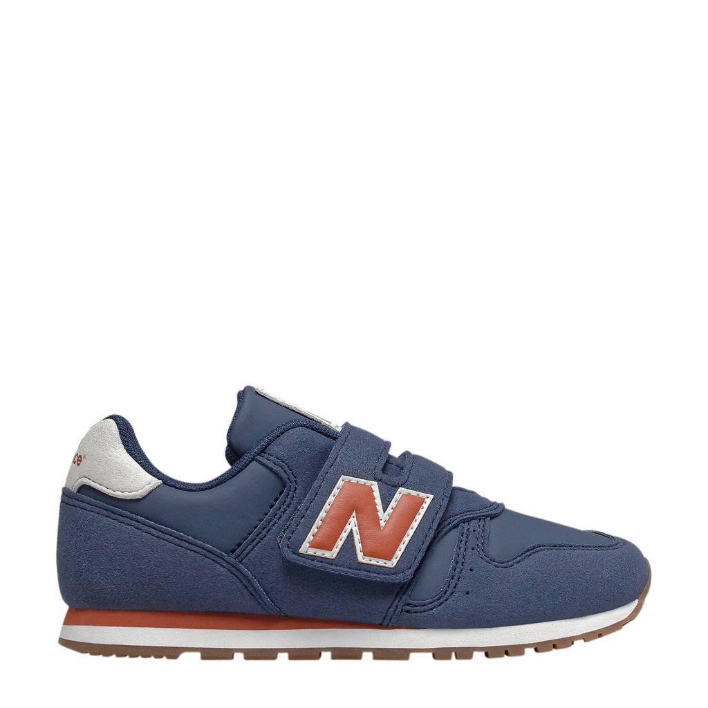 New Balance  YV373 sneakers donkerblauw/oranje, Donkerblauw/oranje