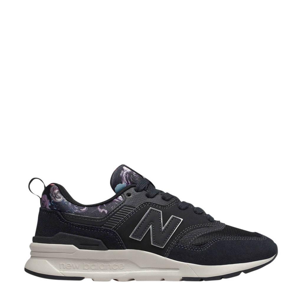 New Balance  997 sneakers zwart/paars, Zwart/paars