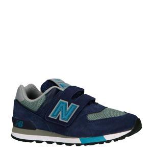 574 sneakers donkerblauw/grijs
