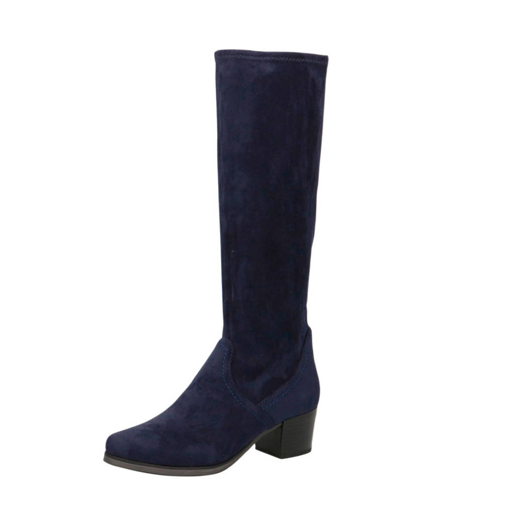 Caprice Bella  laarzen donkerblauw, Donkerblauw
