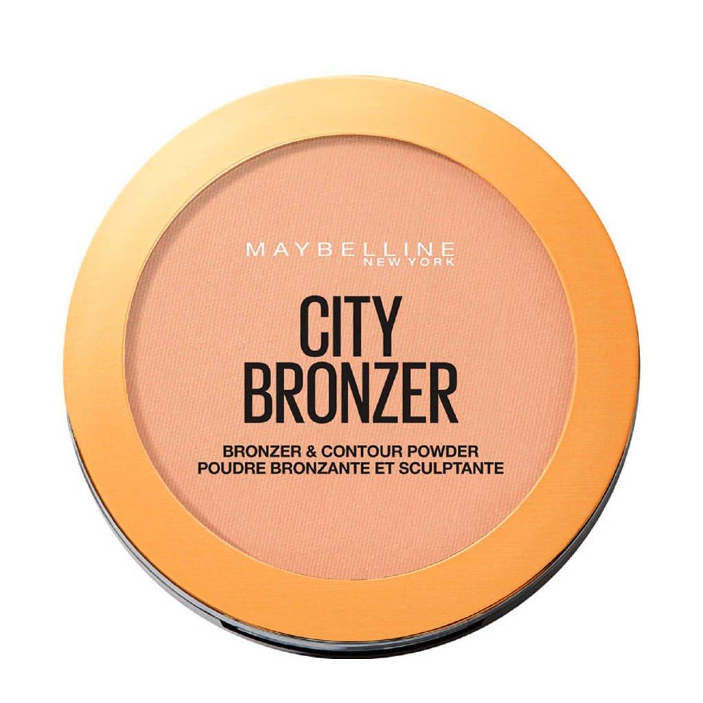 Maybelline New York bronzer en contouring poeder - 200 Medium Cool