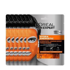 Hydra Energetic hydraterend tissue gezichtsmasker