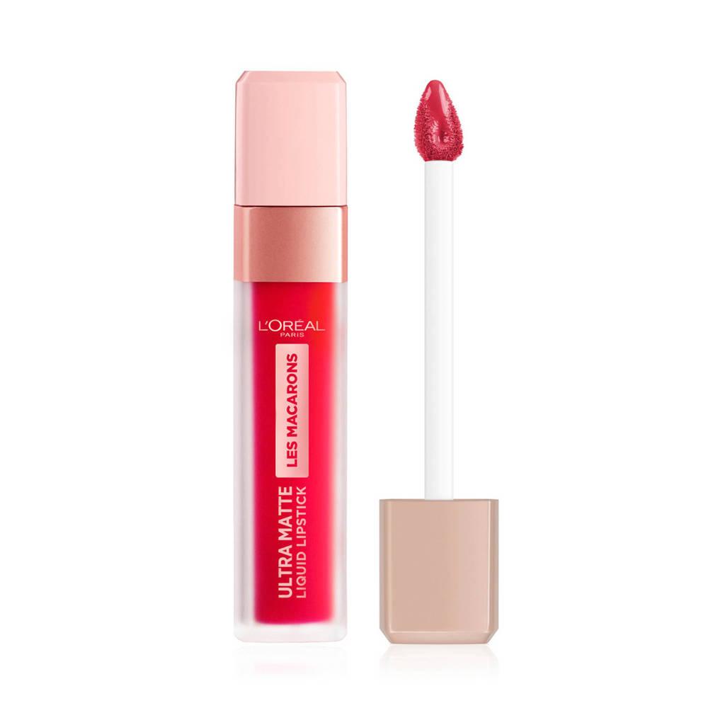 L'Oréal Paris Les Macarons lippenstift - 828 Framboise Frenzy