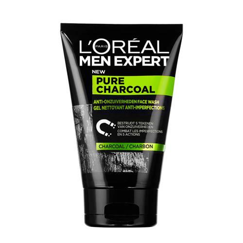 L'Oréal Paris Men Expert Anti-onzuiverheden pure charcoal gezichtsreiniger