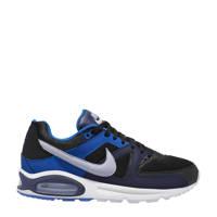 Nike Air Max Command sneakers zwart/blauw, Zwart/blauw/lichtgrijs