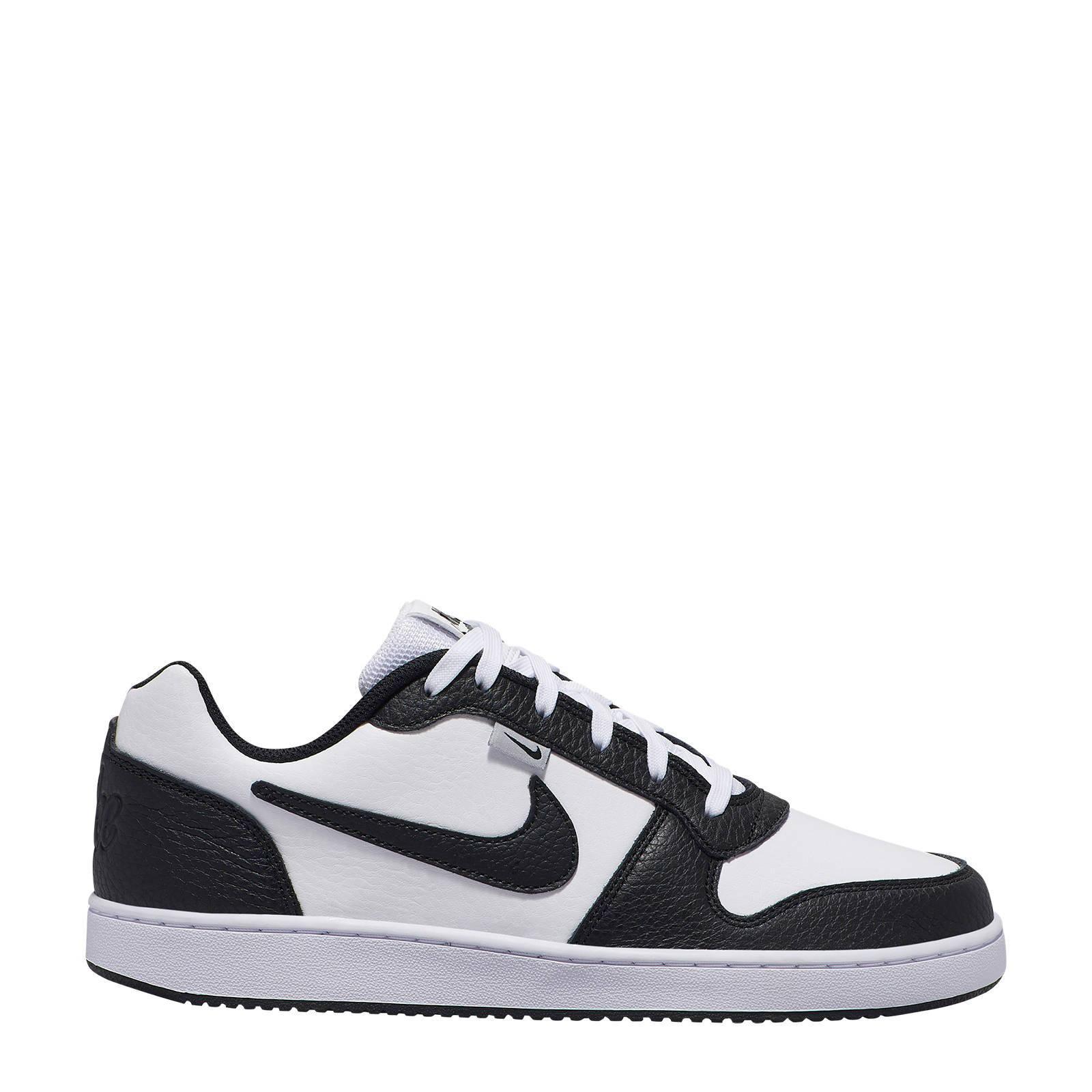 Nike EBERNON LOW PREM Ebernon Low leren sneakers wit | wehkamp
