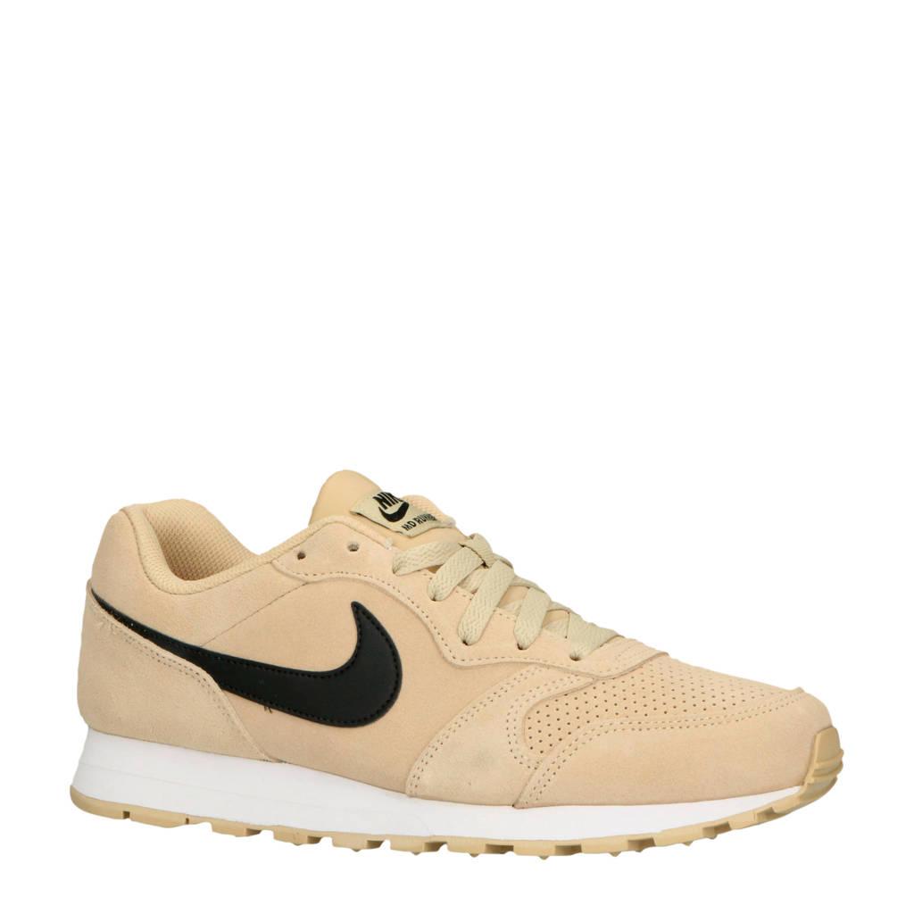 Nike  MD Runner 2 Suede MD Runner2 suede sneakers beige/zwart, Beige/zwart