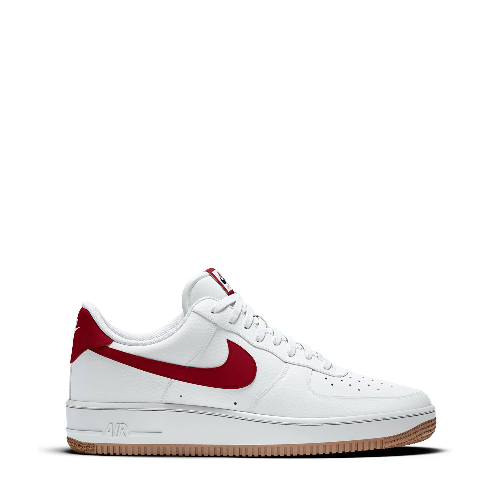 Air Force 1 '07 sneakers wit/rood
