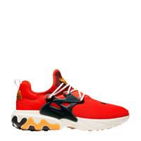 Nike  React Presto sneakers rood/zwart, Rood