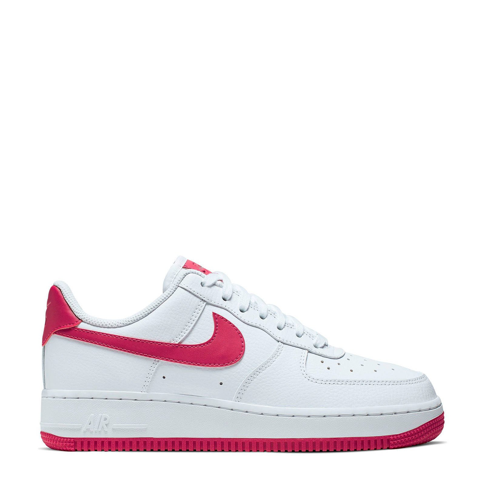 Nike Air Force 1 '07 sneakers wit/roze | wehkamp