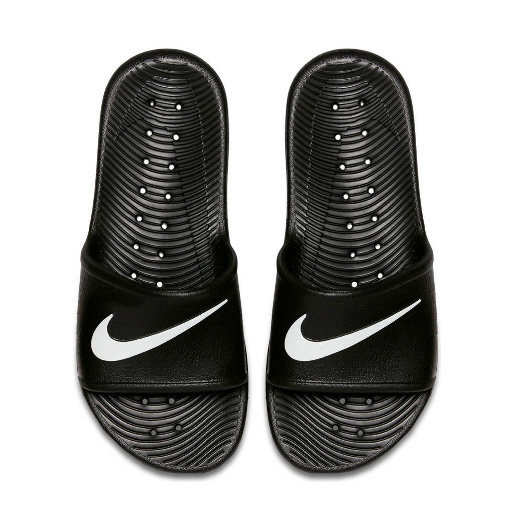Nike  Kawa Shower Kawa Shower douche slippers zwart/wit, Zwart/wit