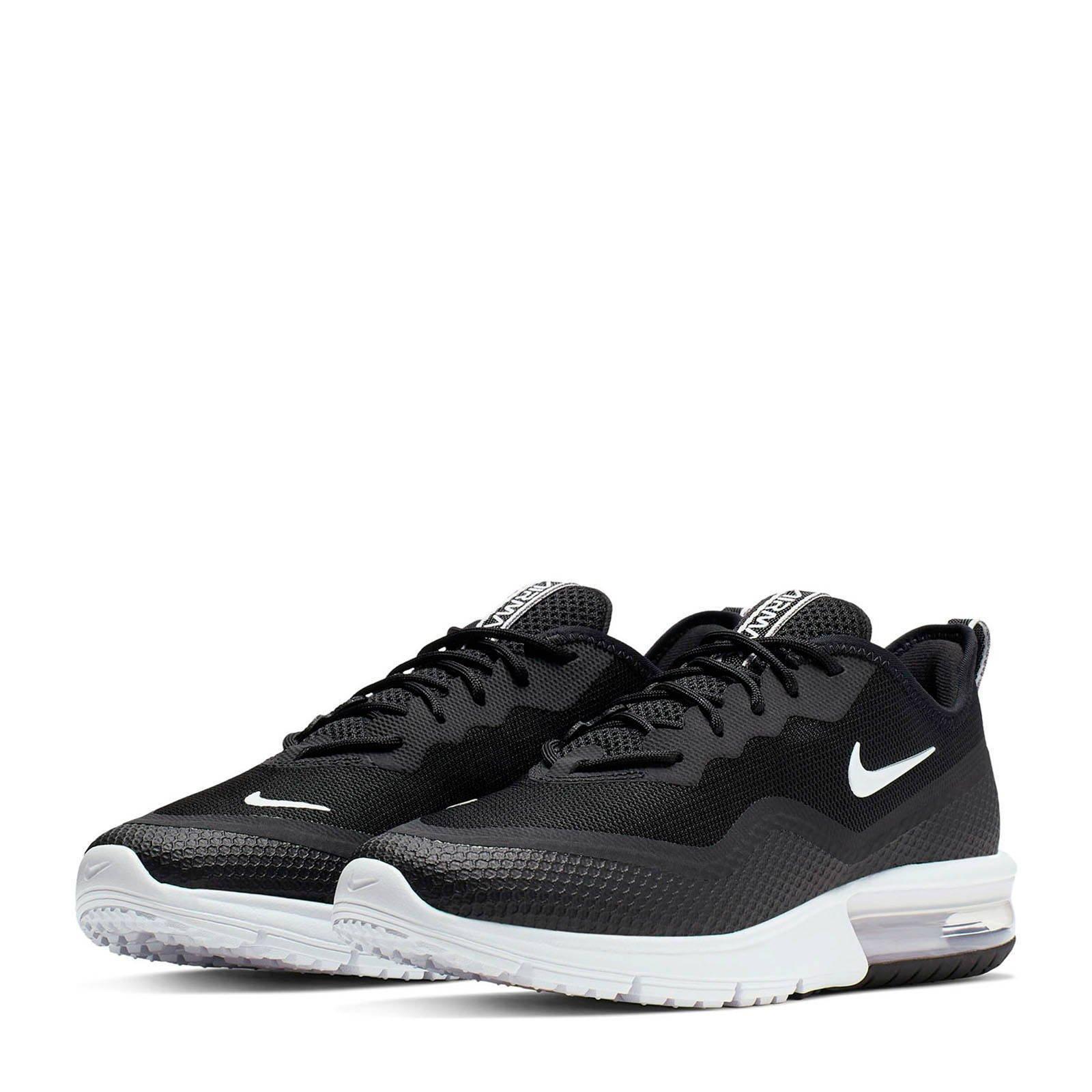 Nike Air Max Sequent 4.5 sneakers zwart   wehkamp